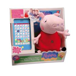 Peluche Interactivo con Tablet Peppa Pig