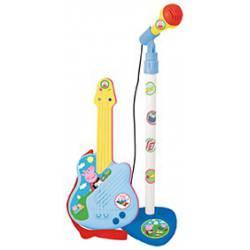 Guitarra y Micrófono Peppa Pig
