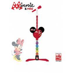 Micrófono Minnie Amplificador Conexión MP3