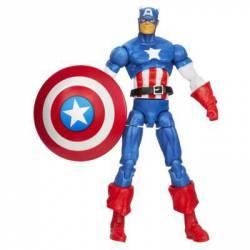 Figura Capitán America Serie Infinite Avengers 12 cm