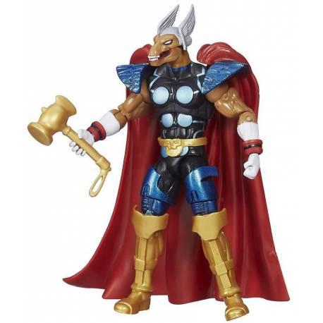 Figura de Beta Ray Bill 10 cm. de la serie Infinite de los vengadores de Marvel
