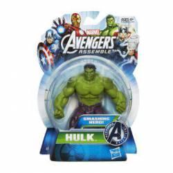 Figura articulada 10 cm del personaje Hulk de los Vengadores de Marvel Serie All Star