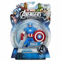 Figura articulada 10 cm del personaje Capitán América de los Vengadores de Marvel Serie All Star