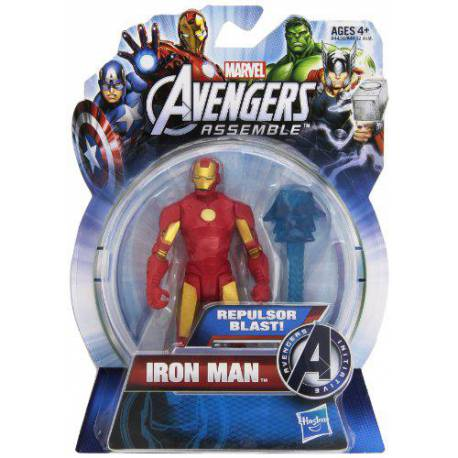 Figura articulada 10 cm del personaje Iron Man de los Vengadores de Marvel Serie All Star