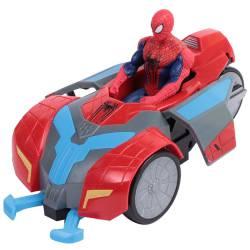 Figura de Spiderman con Vehículo Coche Turbo Capture Racer