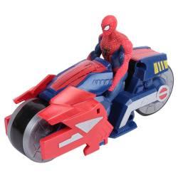 Figura de Spiderman con Vehículo Moto Blaze Wing Cycle Racer