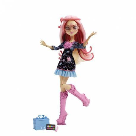 Monster High Viperine Gorgon Cámara Acción