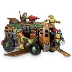 Vehículo Shell Raiser Van Tortugas Ninja con 1 Figura