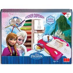 Máquina de Pegatinas Frozen