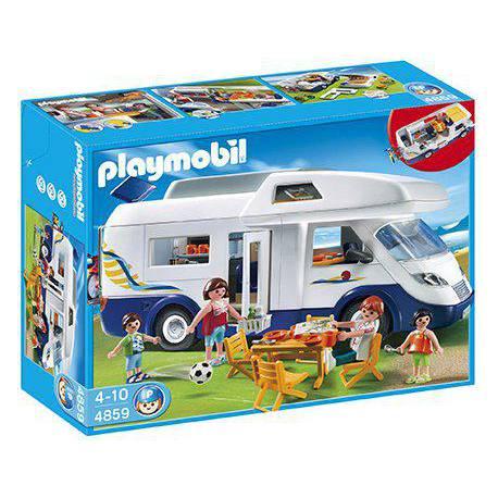 Playmobil Caravana Familiar Autocaravana