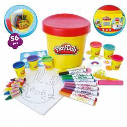 Maxi Bote de Actividades Play-Doh 56 piezas