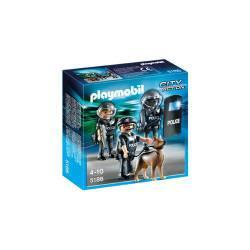 Unidad Especial de Policía Playmobil