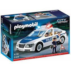 Coche de Policía con Luces Playmobil