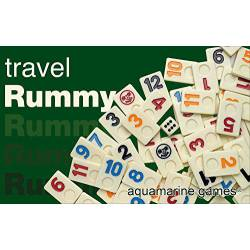 Travel Rummy 4 jugadores Aquamarine Games