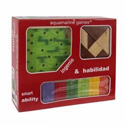 Pack Ingenio y Habilidad Aquamarine Games
