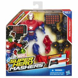Iron Patriota Avengers Super Hero Mashers 15 cm
