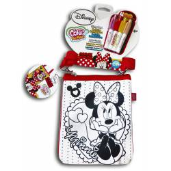 Color Me Mine Bolso Bandolera Minnie para colorear