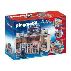 Cofre Cuartel de Policía Playmobil