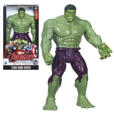 Figura Hulk Titán 30 cm Marvel Avengers Age of Ultron Titan Hero Series
