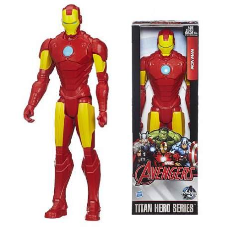Figura Iron Man Titán 30 cm Marvel Avengers Age of Ultron Titan Hero Series