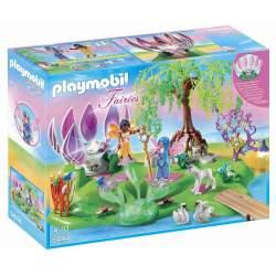 Playmobil Isla De Las Hadas Con Fuente Piedras Preciosas
