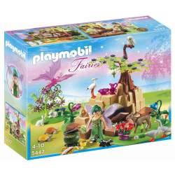 Playmobil Hada de la Salud Elixia con Animales del Bosque