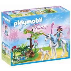 Playmobil Las hadas - Hada Aquarella en la Pradera del Unicornio