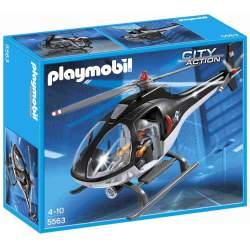 Playmobil Helicóptero Unidad Especial de Policía