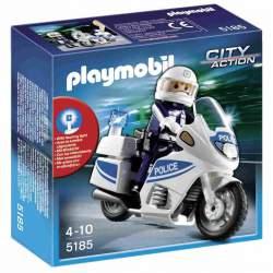 Playmobil Moto de Policía
