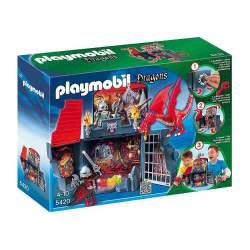 Playmobil Cofre Guarida del Dragón Maletín