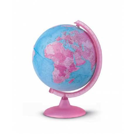 Esfera Rosa 26 cm con Luz