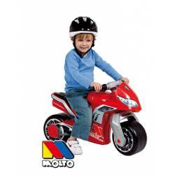 Moto Correpasillos con Casco Molto