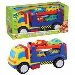 Camión Portacoches Infantil con Sonido