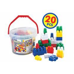 Cubo Construcción 20 piezas