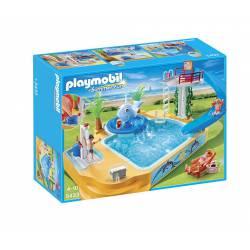 Piscina de los Niños con Fuente de Ballena Playmobil