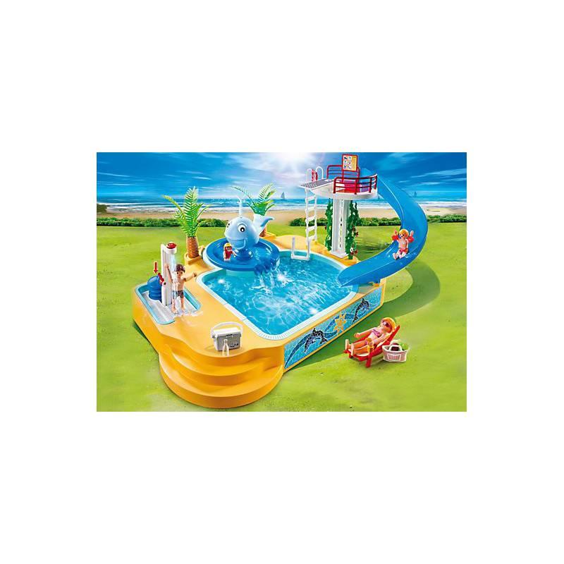 piscina de los ni os con fuente de ballena playmobil