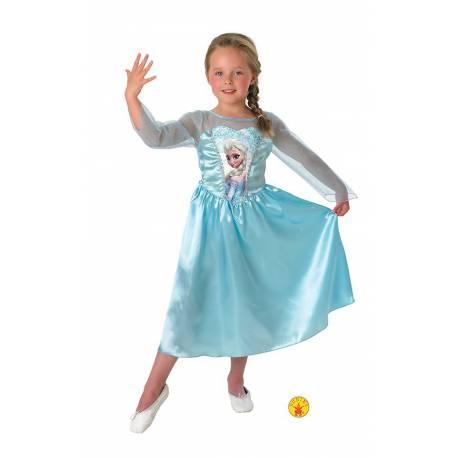 Disfraz Frozen Elsa Classic Infantil Talla L