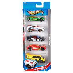 Hot Wheels Set 5 Coches