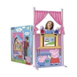 Teatro Marionetas Peppa Pig