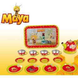 Juego de Té Metal Abeja Maya 14 piezas