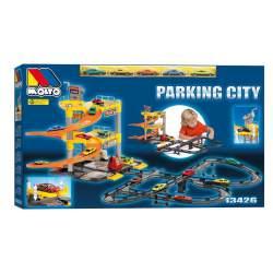 Parking City Moltó 3 plantas con Pistas y 5 coches
