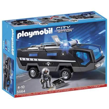 Playmobil Camión Unidad Especial de Policía