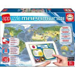 Puzzle MapaMundi Interactivo Educa