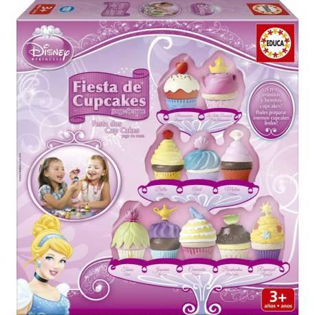 Fiesta de Cupcakes Princesas Disney