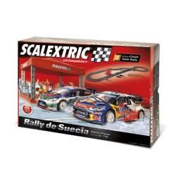 Scalextric Circuito C3 Rally de Suecia