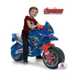 Correpasillos Moto Hawk Avengers Injusa
