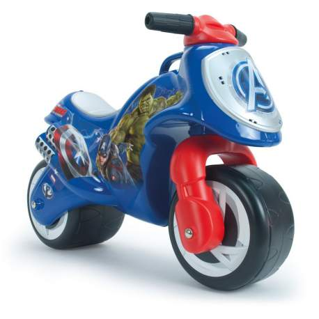 Correpasillos Moto Neox Avengers Injusa