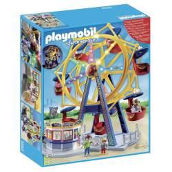 Playmobil Parque de Atracciones Noria con Luces