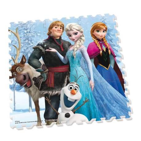 Alfombra Puzzle Foam Frozen 90 x 90 cm