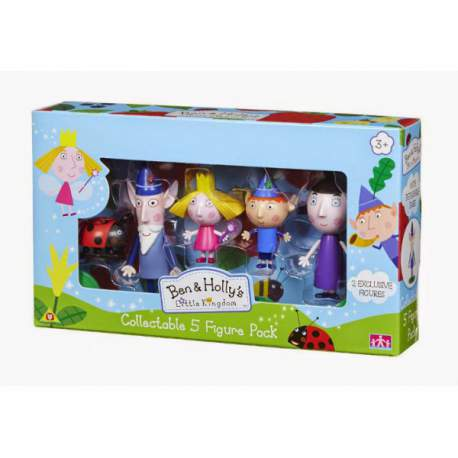 Ben y Holly Pack 5 Figuras